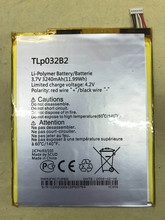 3240mAh Tablet Lithium Battery Bateria TLp032B2/TLp032BD  For ALCATEL onetouch pop 7 P310A P310 Pixi 9006W second-hand