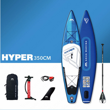 AQUA MARINA HYPER Surf Board Surfing Board Stand Up Paddleboard Inflatable SUP Paddle Board SUP Board For Surfing 350*79*15CM 1