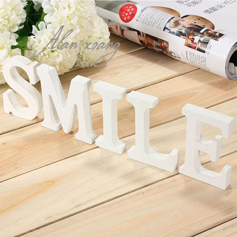 Diy Wood Pvc Letter Alphabet Word Free Standing Wedding Party Home Decoration China Mainland