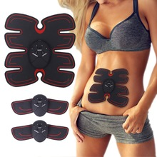 цены Abdominal Muscle Trainer Vibration Exercise Massager Muscle Stimulator Abdominal Toning Belt for Men Women, Arm  Leg Trainer Hot