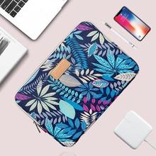 Новинка 13 14 15,6 дюймов ноутбук рукав холст богемный ноутбук сумка для Macbook Air 13 Pro 13 Чехол 14,1 «13,3» женские мужские сумки для ноутбука