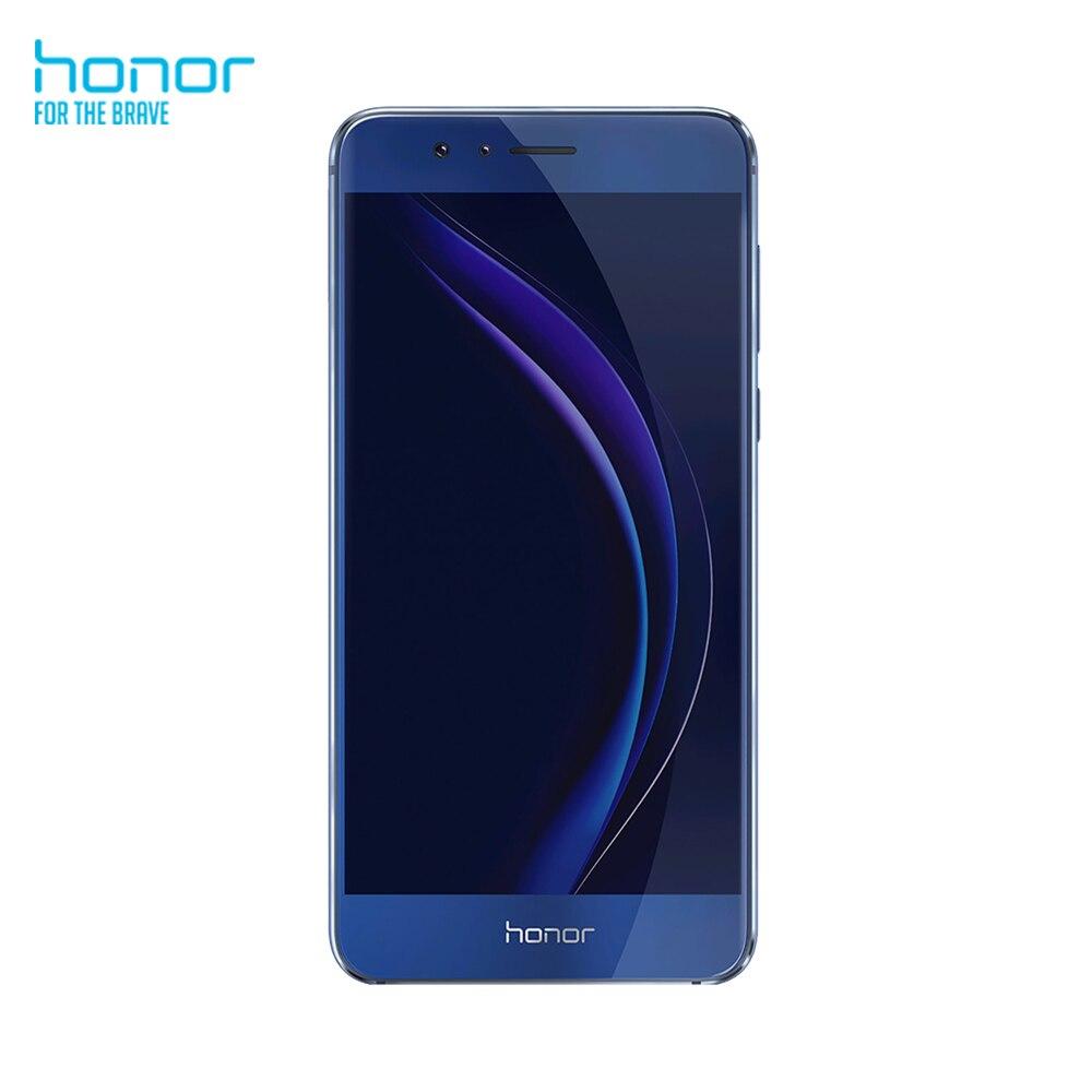 Smartphone Honor 8 (RAM 4 go, ROM 32 go, 5.2 pouces, caméra arrière 12 MP, caméra frontale 8 MP, Android 6.0) téléphone Mobile bleu