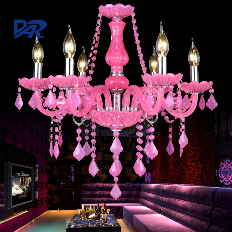 European Luxury Pink Crystal Chandelier Lighting 5/6/8/10/12/15/18/24 Arms K9 Crystal Chandeliers Lustres Para Sala Led Avize