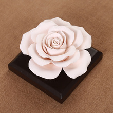 3Pcs Ceramic Flower Essential Oil Perfume Scent Diffuser Air
