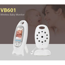 FIMEI VB601 Wireless Baby Monitor Infant 2.4GHz Digital Video Baby Monitor Temperature Display Night Vision Music Nanny Monitor(China)