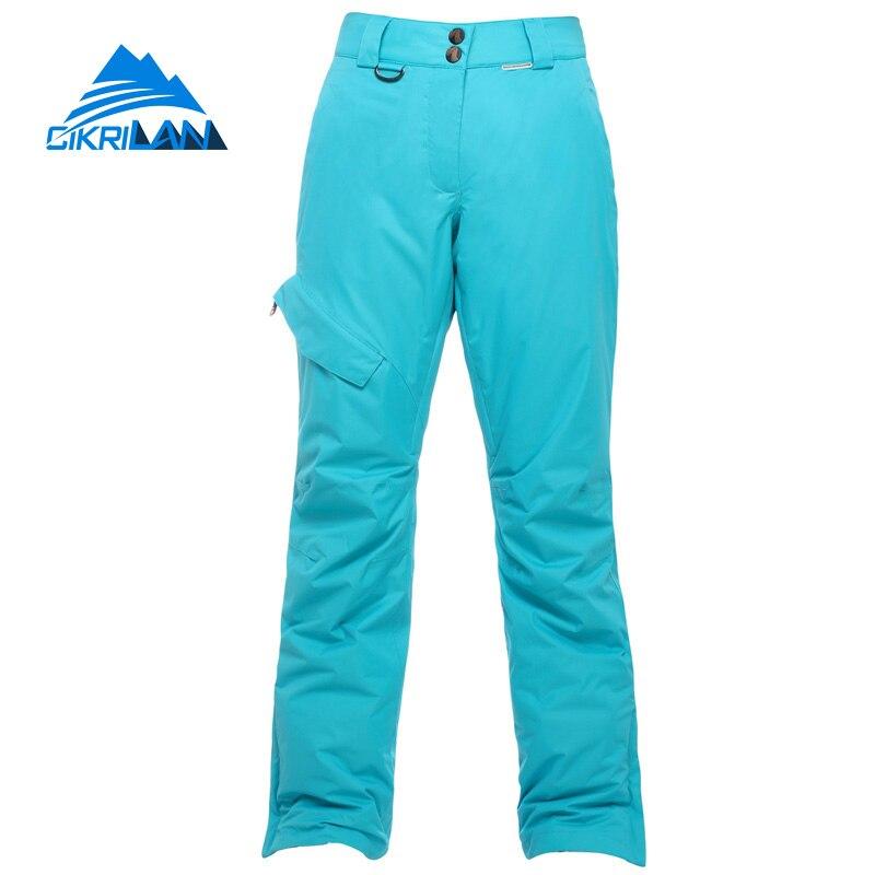 Pantalon de Ski de randonnée en plein air pour femmes, hiver 2019, Ski de neige, pantalon coupe-vent, combinaison de Snowboard - 2