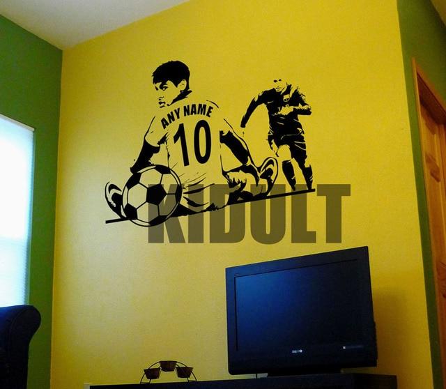 Behang Stickers Kinderkamer.Nemal Voetbal Ster Muurstickers Vinyl Stickers Kinderkamer