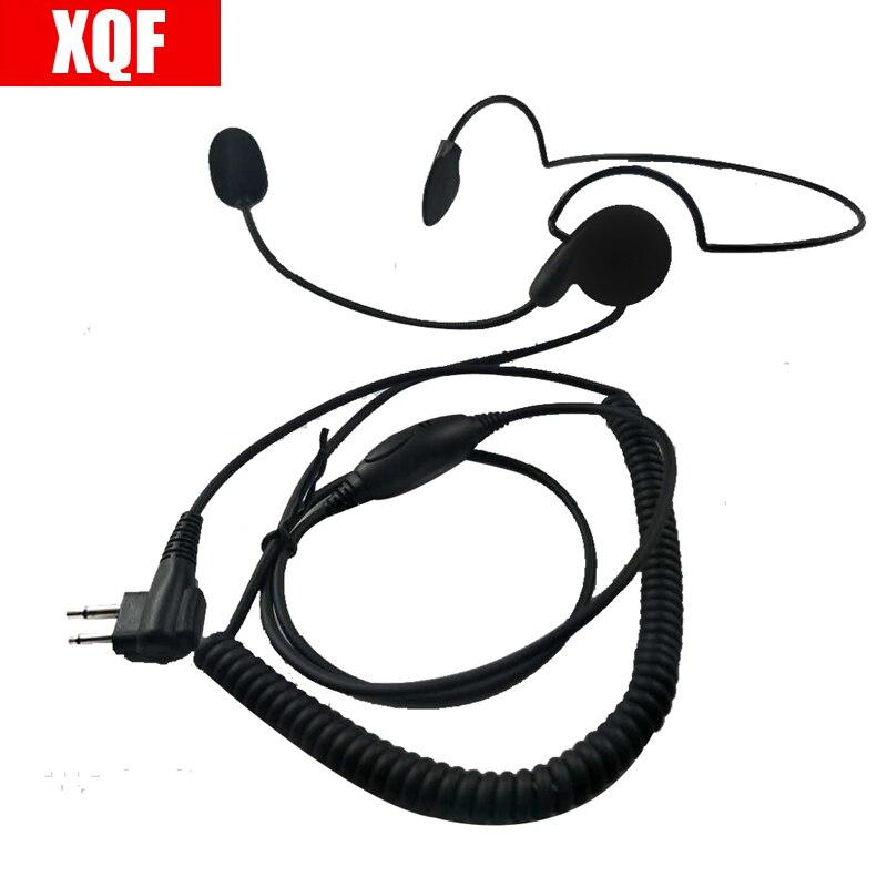 XQF 2 Pin Advanced Unilateral Headphone Mic For Motorola XU1100,XU2100,XU2600 GP2100, GP300, GP 308, GP68, GP88, GP88 Radio