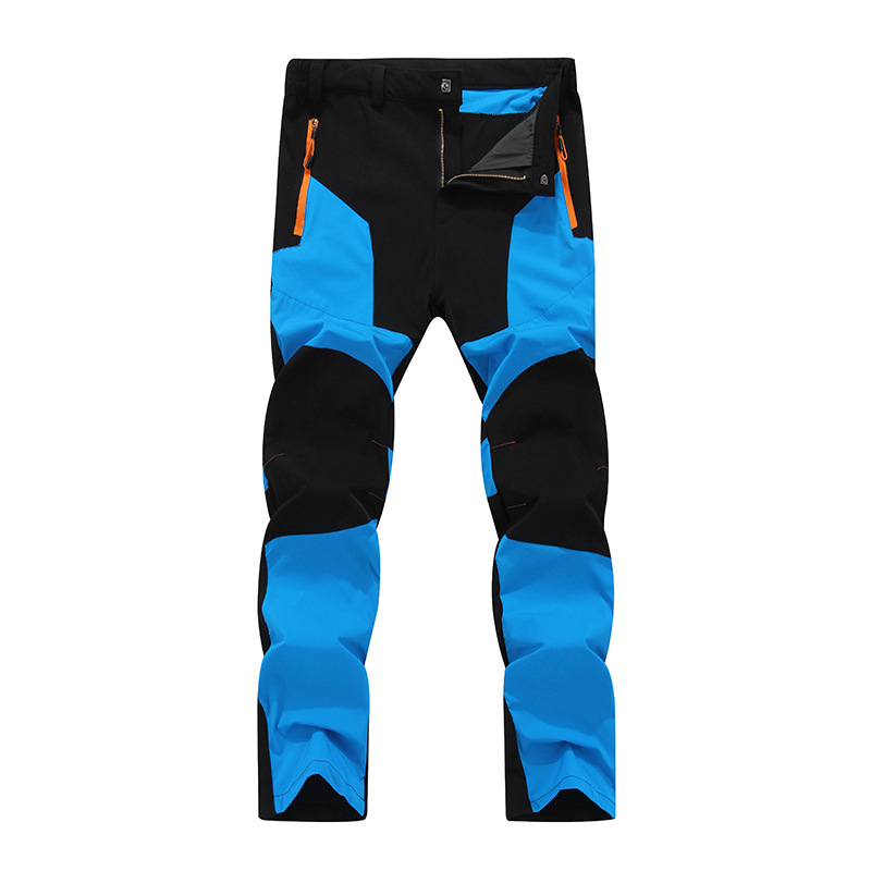 Outdoor Camping Hiking Pants Men Trousers Tactical Mountain Climbing Pants Softshell Trousers Waterproof Trekking Fishing Pants in Hiking Pants from Sports Entertainment