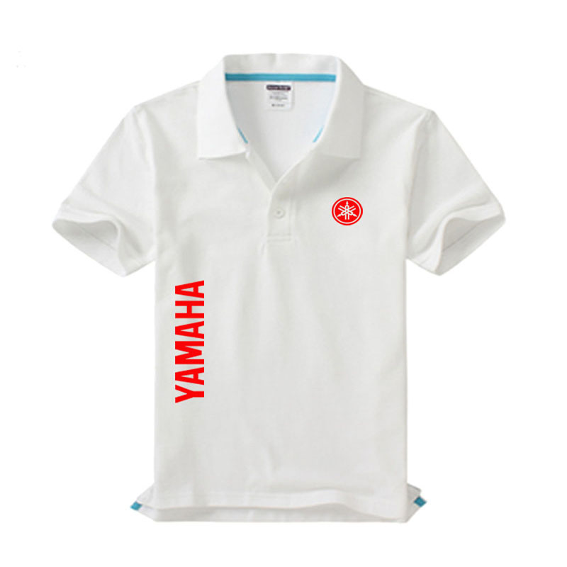 High quality Yamaha logo   Polo   shirt brand clothing men's fashion casual   Polo   shirts