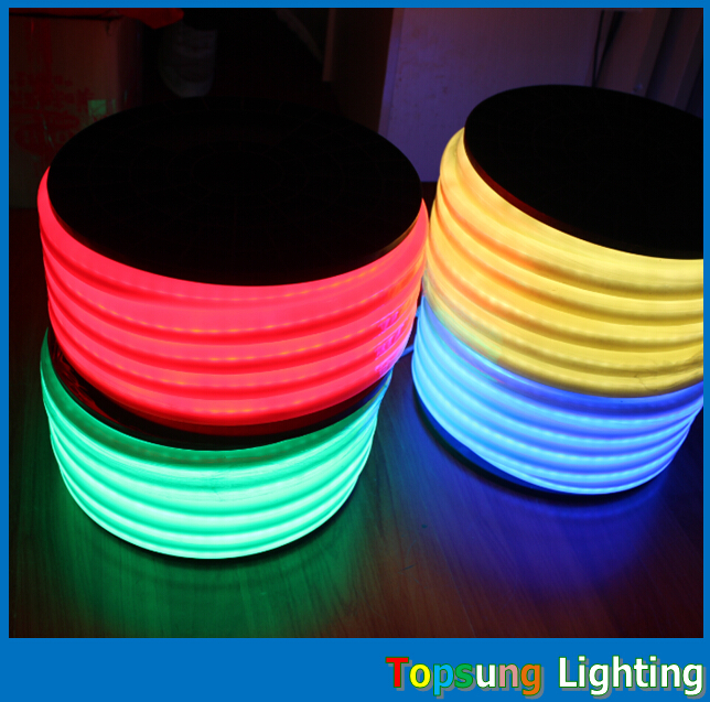 50M spool 230v LED Neon Flexi Rope Light Weatherproof red yellow blue green white cheap neon-flex strips factory price очки true spin neon yellow