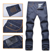 Angelo galasso jeans men's 2016 new style100% cotton fashion commercial mid waist comfort high fabric gentleman free shipping
