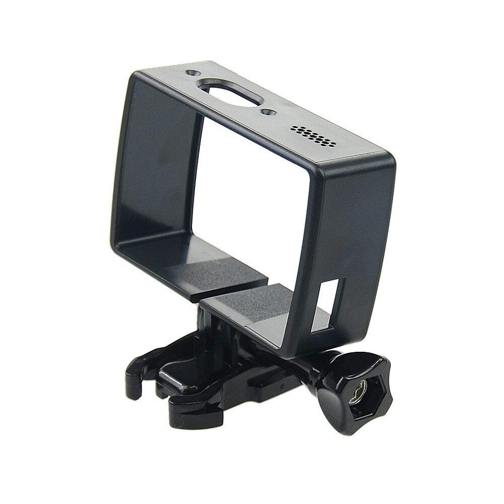 Tekcam Logement Montage Latéral Protéger Cadre Cas Pour Xiaomi YI 4 K Action Sports Caméra avec Mount Adapter pour yi 4 k plus