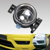3M51 15K202 AA 1pc Black Front Left Side Fog Lights Lamp 55W 12V For Ford Focus