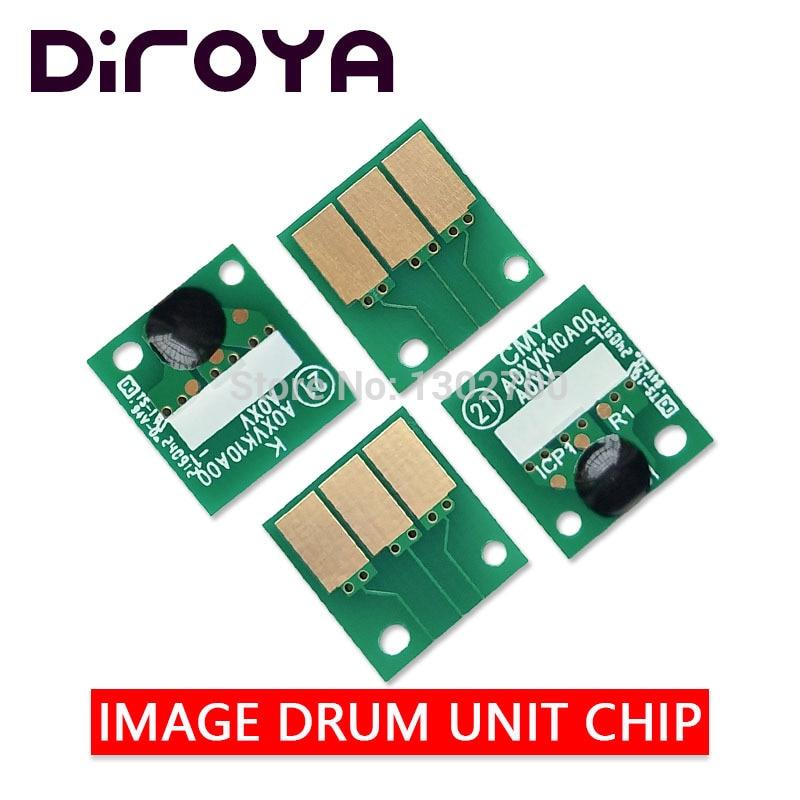 COMPATIBLE DR-311 DR311 K C M Y Image cartridge chip For Konica Minolta bizhub C220 C280 C360 C 220 280 360 Drum Unit reset laser printer spare parts for minolta cf2203 image unit drum chip