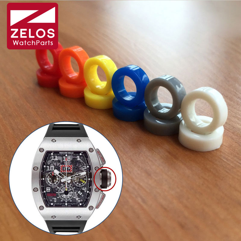 Watch Crown Rubber Ring For RM Richard Mille Watch RM011 RM035 Replacement Parts