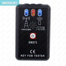 Remote Controller Tester Radio Frequency Keyfob Tester Handheld Portable Infrared Remote Test ALL SUN EM273 цена