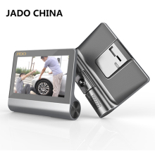 JADO D780 4.3 Car Camera  Full HD 1080P  Car Dvr Video Recorder 140 degree Car Registrar Car DVRs  Camcorder Dash cam  ADAS