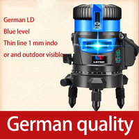NEW Green laser level laser 2 line 3 line 5 line flat water meter high precision infrared automatic line caster