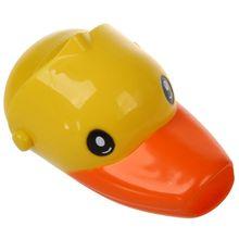 Water tap Taps Extender Washbasin for children Baby hand wash Bathroom (Yellow duck)