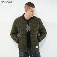 Baseball Winter Coat jacket Men Warm Windbreaker Male Parkas Brand Clothing Fashion England Style Light Soft Comfortable
