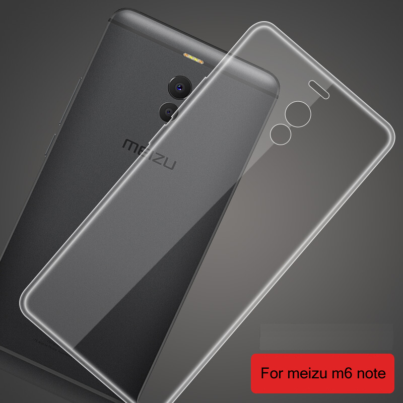 meizu m6 note case cover HAODM origial transparent meizu note 6 cover 5.5 fundas soft conque for meizu m6 note case.