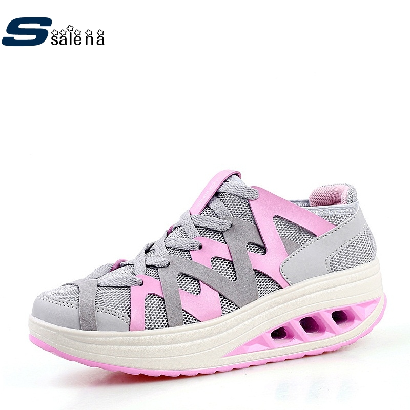 Women Running Shoes Light Weight New Design Sneakers Platform Women Sports Shoes Good Quality Outdoor AA20436