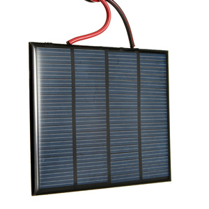 Image 3 - Hot Koop 12 V 1.5 W 100 MAh Polykristallijne silicium Zonnepaneel PV module Mini Zonnecellen Batterij Telefoon oplader met Lasdraad