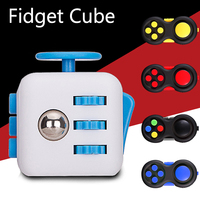 Fidget Cube Squeeze Fun Stress Reliever Gifts Relieves Anti Stress Juguet For Adults Children Figet Handle Cube Desk Spin Toys