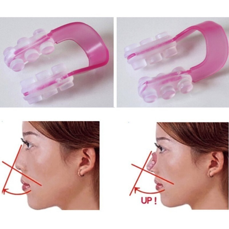 Nose Up Shaping Shaper Lifting Bridge Straightening Beauty Soft Silicone Clip Face Cliping Rhinoplasty (1) 6