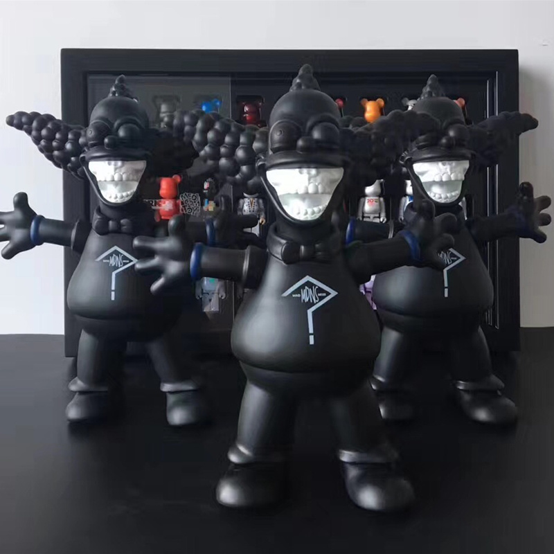 New Figures Street Art Medicom Toy Movable Joints MADNESS X RONENLISH Joker Cosplay KAWS PVC Action Figure Model Doll 102cm street art medicom toy dissection super mario cosplay kaws pvc action figure collection model toy g1203