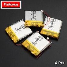 3,7 в 400 мАч литий-полимерная аккумуляторная батарея 582728 батарея литий-ионная Lipo ячейка для Bluetooth динамика КПК ноутбука gps