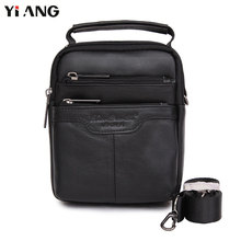 hot deal buy yiang brand small shoulder bag for men casual cross body black handbag fashion messenger bag waist belt pack mobile phones bags