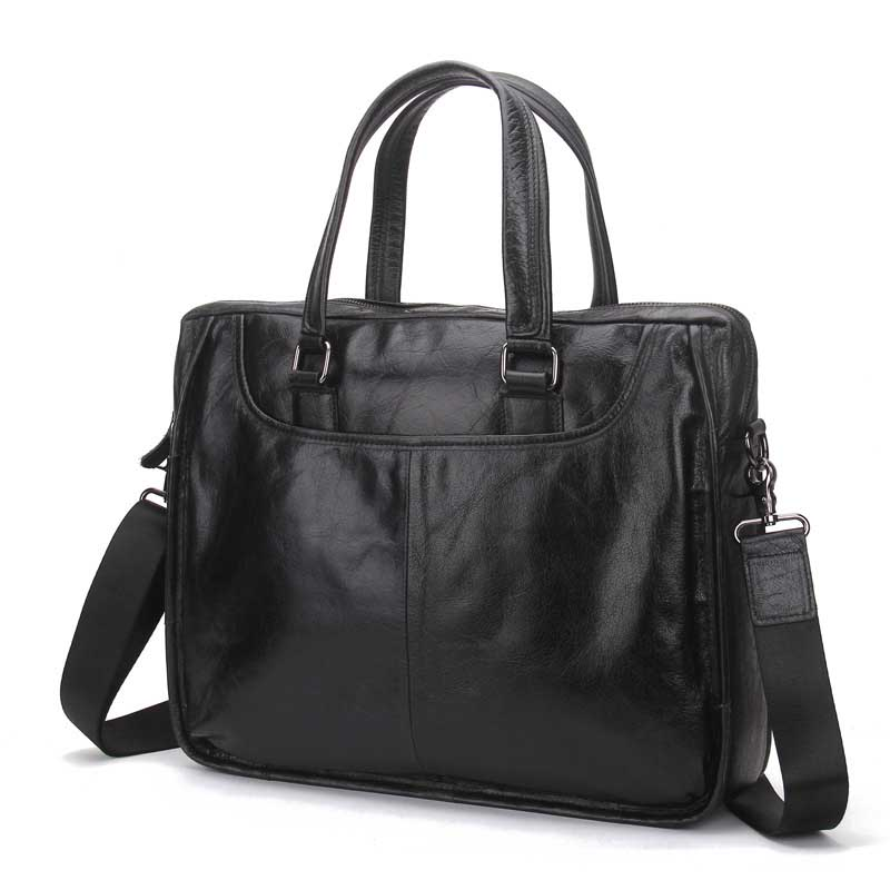 New luxury quality business Korean version of the shoulder Messenger bag briefcase portable casual business retro leather the quality of accreditation standards for distance learning