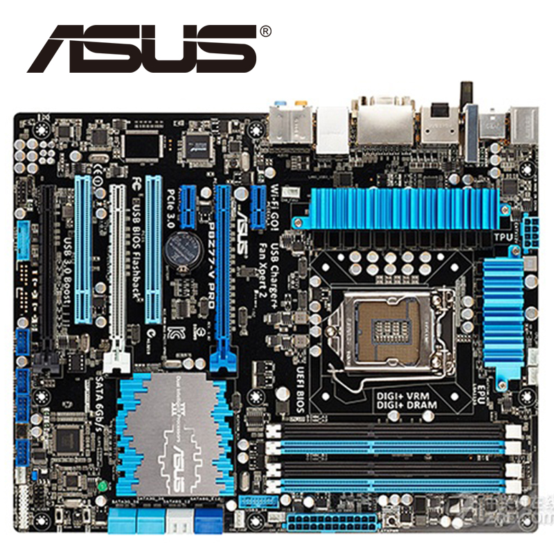 Asus P8Z77-V Pro Desktop Motherboard Z77 Socket LGA 1155 i3 i5 i7 DDR3 32G ATX UEFI BIOS Original Used Mainboard On Sale asus h61m e original used desktop motherboard h61 socket lga 1155 i3 i5 i7 ddr3 16g micro atx on sale