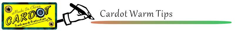 cardot-warm tips