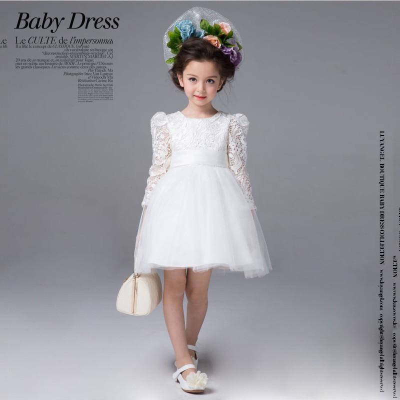 Edad 3 8 Princesa Niños Vestidos Fiesta Para Niñas Otoño