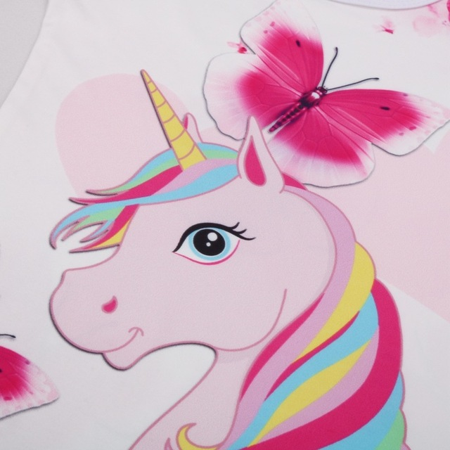 Sleeveless Unicorn Princess Dress