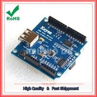 Usb-host-schild kompatibel mit ADK unterstützung UNO MEGA modul bord