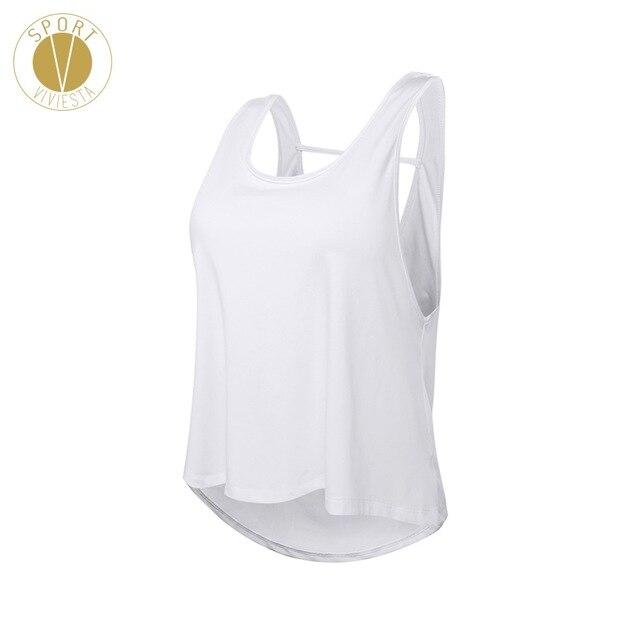 c08cf01b18050 Loose Fit Moisture Wicking Training Tank - Women s New Yoga Workout  Training Running Comfort Seamless Sleeveless Shirt Vest Top