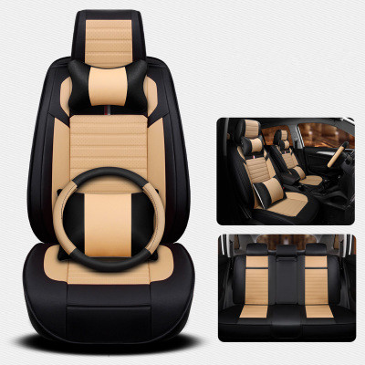 High Quality Full Set Car Seat Covers Steering Wheel