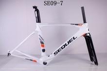 DC009 хорошее качество карбоновая рама для шоссейного велосипеда Toray T1000 UD PF30 коническая система карбоновая рама для шоссейного велосипеда