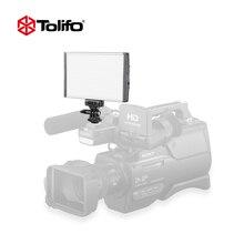 Tolifo PT-15B ультра тонкий свет Вес Алюминий сплав двухцветный светодиодный Камера фотографии свет для DSLR и видеокамера