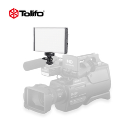 Tolifo pt 15b ultra thin light weight aluminum alloy bi color led video camera light photography.jpg 250x250