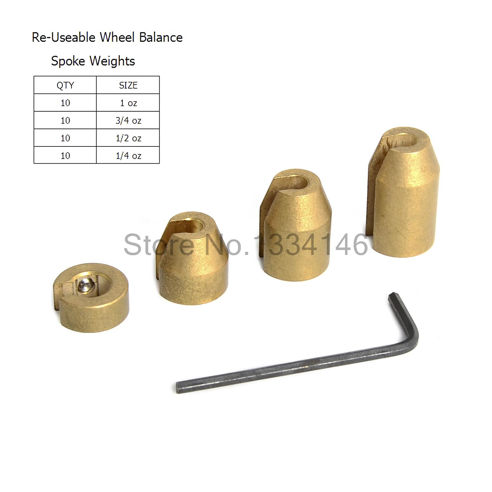 Reusable Motorcycle Wheel Balance Weights For Spoke Wheels