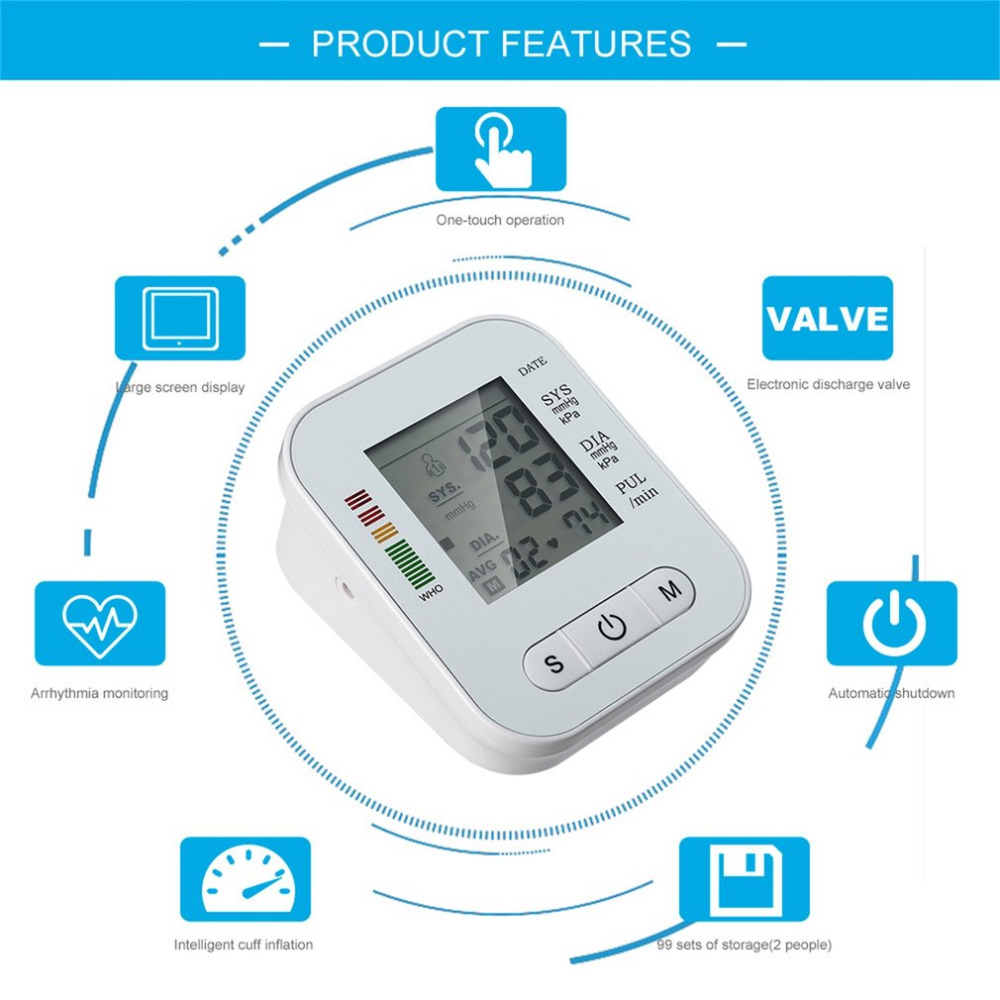 RAK289 Blood Pressure Monitor 8