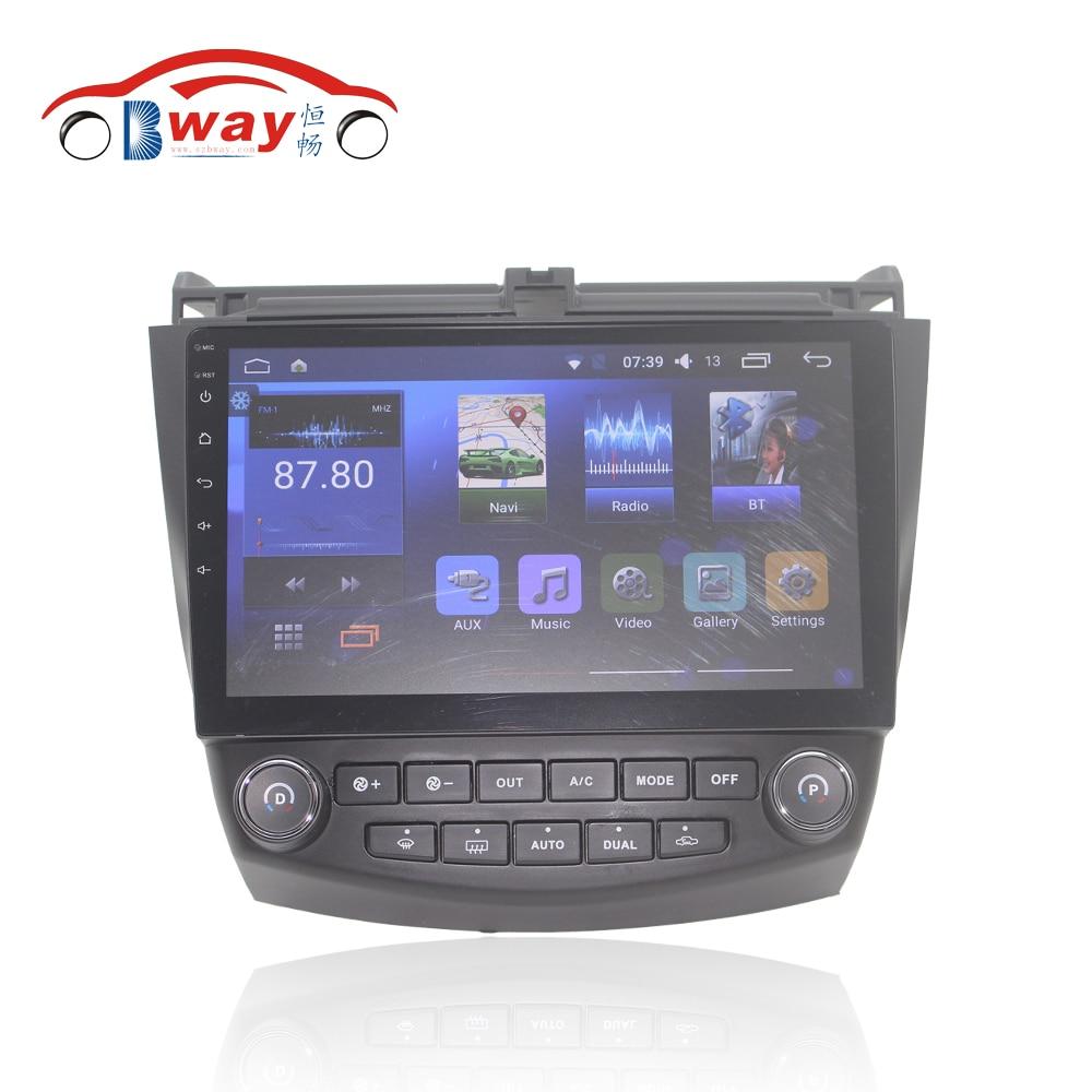 Bway 10 2 font b car b font radio for Honda Accord 7 2 0 2004