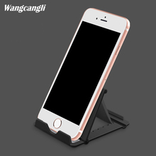 Фотография Phone holder for xiaomi for iphone4s Universal cell phone holder Tablet Stand mount mobile Multi-angle  folding phone support