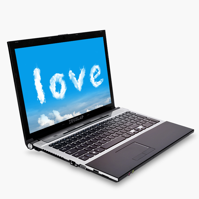 15.6inch Intel I7 4GB RAM 256GB SSD 2TB HDD 1920x1080P WIFI Bluetooth DVD Rom Dual Core Windows 10 Notebook PC Computer Laptop