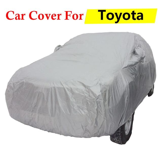 Car Cover Auto Anti-UV Sun Snow Rain Dust Scratch Resistant Cover For Toyota Reiz Vios Highlander Celica Sienna Previa Matrix